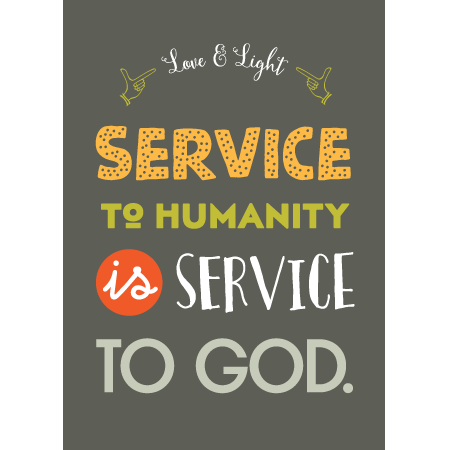 Essay service to mankind is service to god